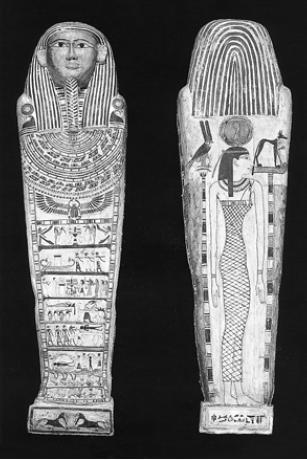 Саркофаг с изображением сцен перехода в мир иной [I тысячелетие до н. э. ]