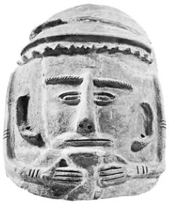 Антропоморфный филистимский саркофаг [Конец II тысячелетия до н. э.]