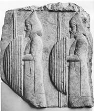 Воины персидского царя [Рельеф из Персеполя]