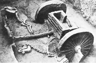 Колесница [Раскопки гробницы в Аньяне]