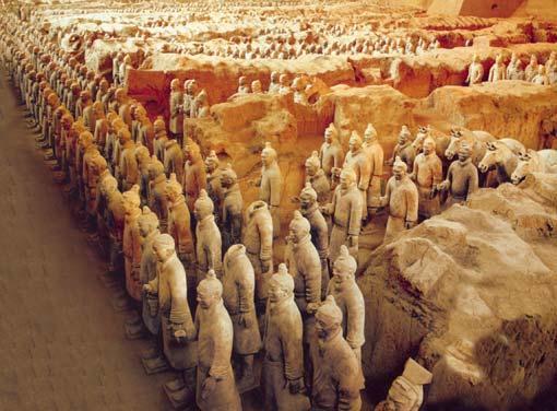 «Глиняная армия» [Раскопки гробницы Цинь Шихуан-ди]