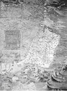 Карта Палестины, или Финикии