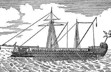 Корабль финикийцев