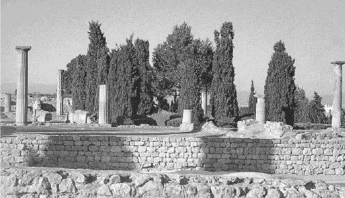 Руины IV в. до н. э. на земле Испании