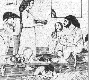Дом состоятельной финикийской семьи