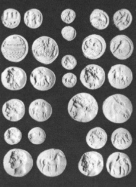 Монеты Восточной и Западной Финикии