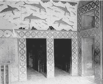 Дворцы, подобные кносским, строил царь Хирам
