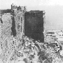Пунийская крепость близ Карфагена